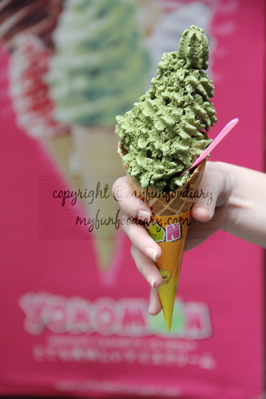 Yokomon Es Krim rasa Green Tea