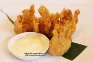 Pangsit Goreng Udang Mayonaise - Lai Ching Resto