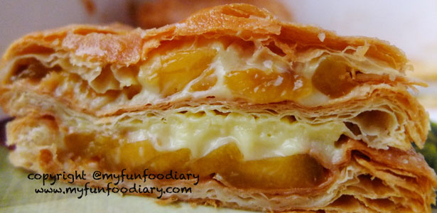 Mango Strudel Half Loaf by Ritz Apple Strudel Singapore