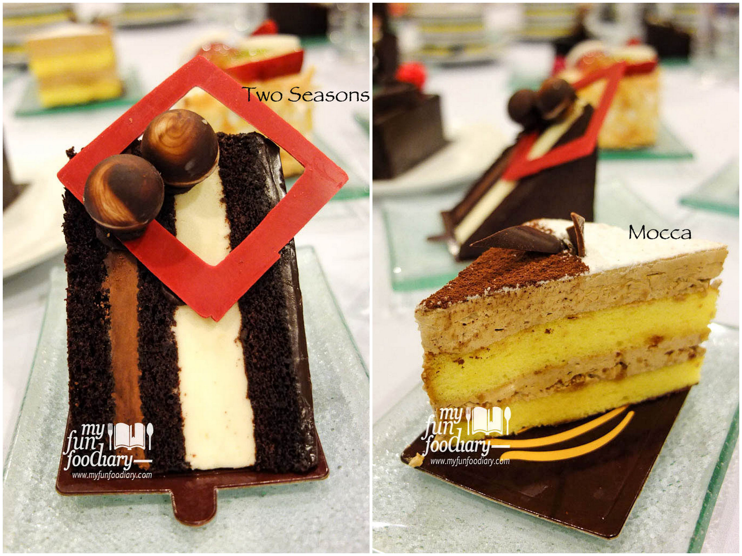Triple Decker IDR 17.5K – Strawberry Cheesecake IDR 22K – Tiramisu