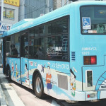 Doraemon Bus Theme at Noborito Station by Myfunfoodiary
