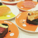 Our sushi dinner at Premium Sushi Train KAIO Sushi - by Myfunfoodiary