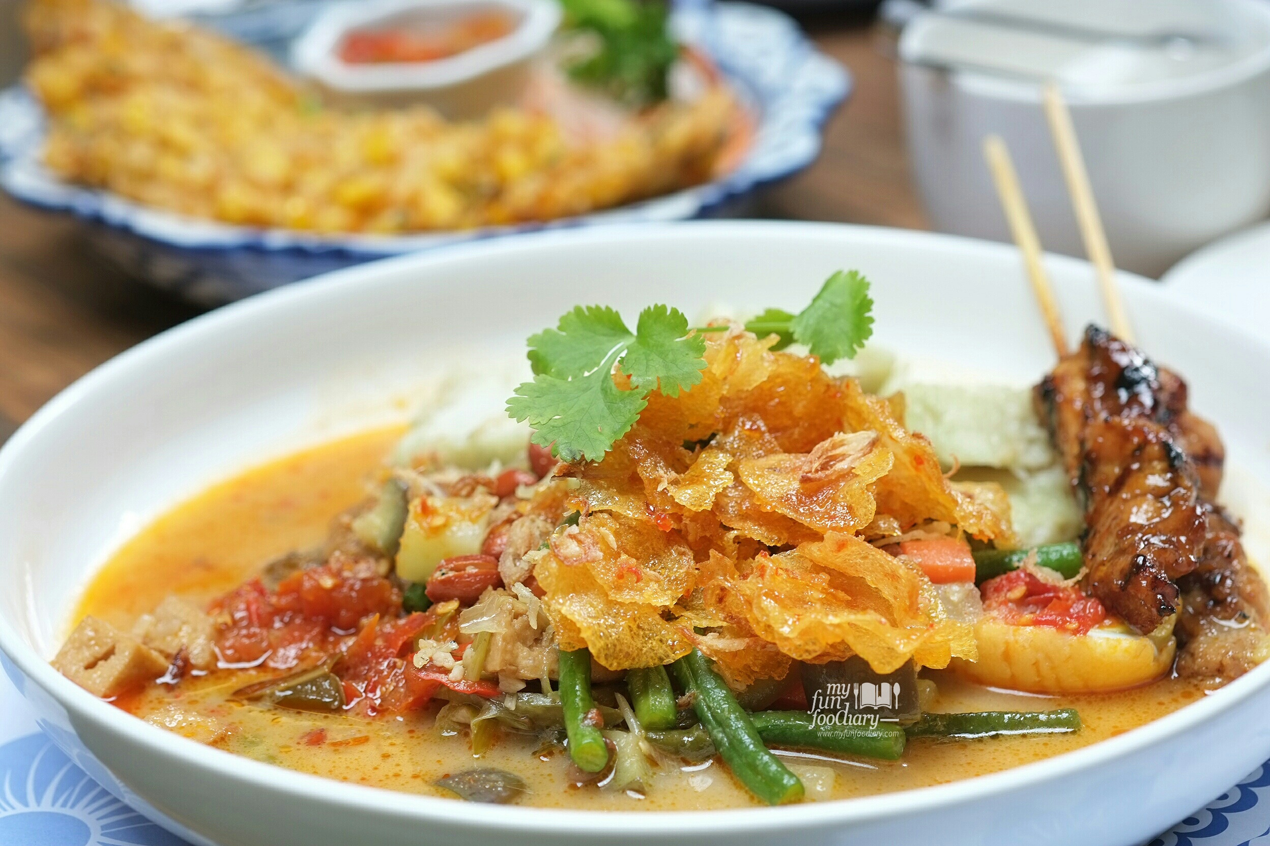 New spot delicious indo orient cuisine lunch at blue for Jasmine cuisine