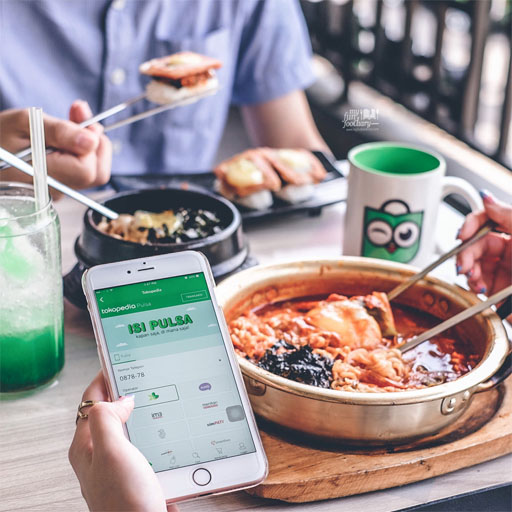 Tokopedia : #TopSerba Campaign awareness