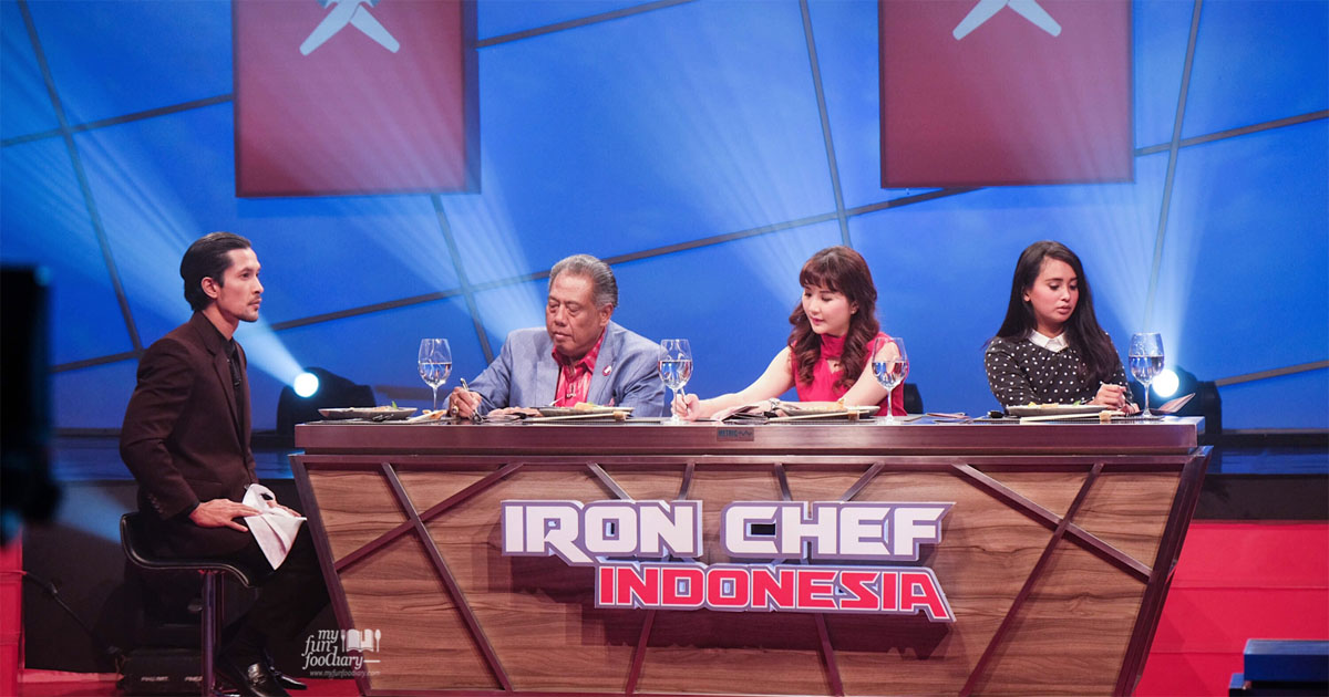 NEW] Mullie Myfunfoodiary on RCTI for Iron Chef Indonesia