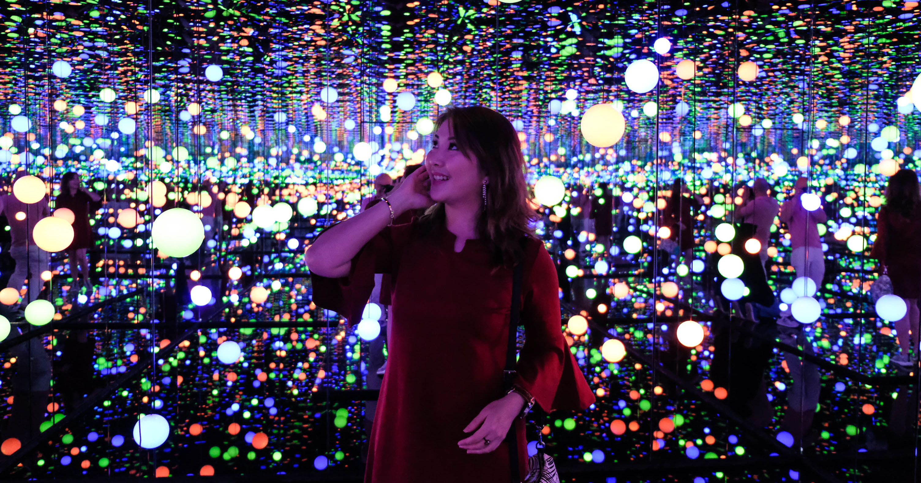 New Museum Macan Featuring Infinity Mirrored Room By