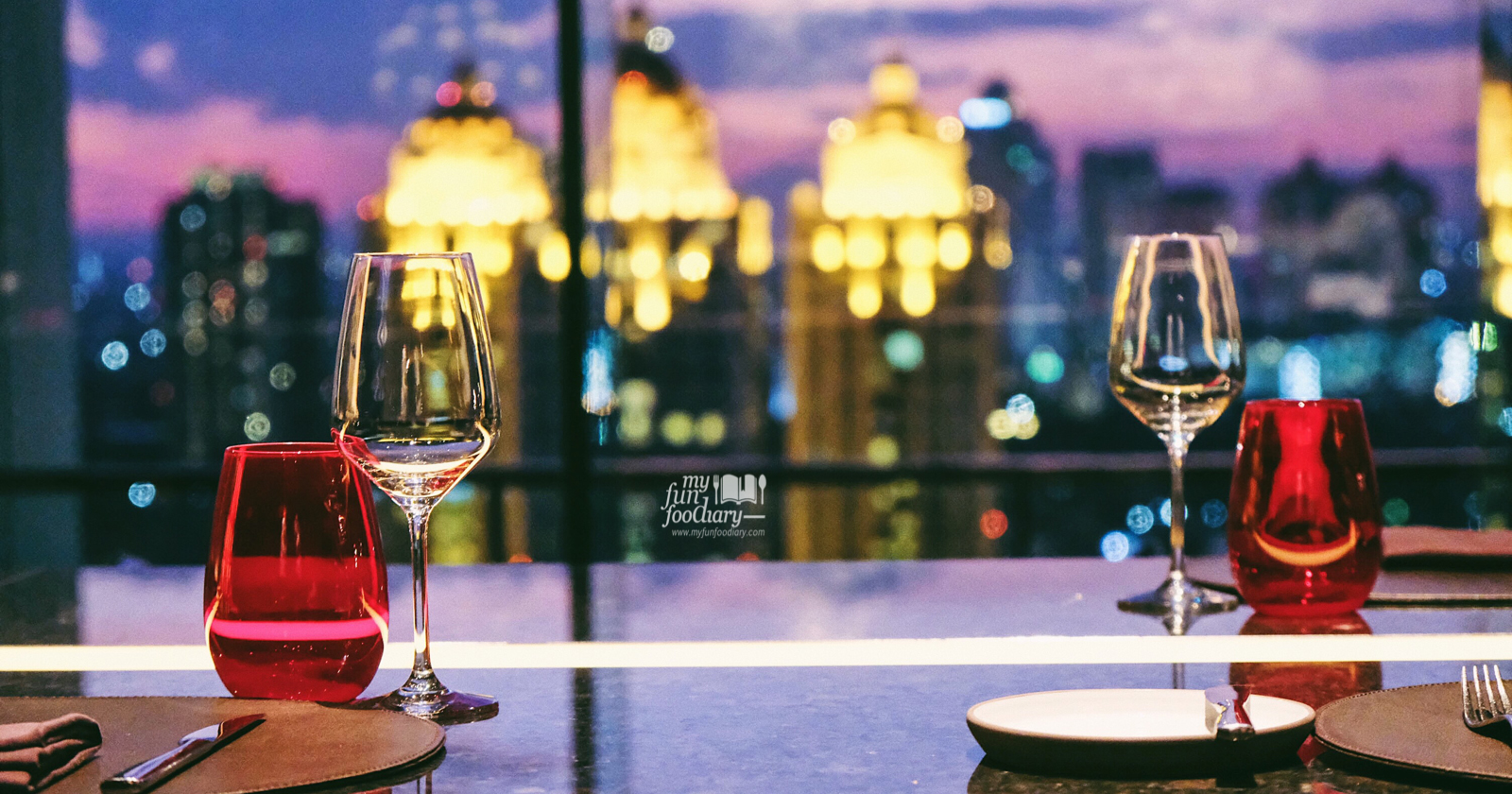 New Romantic Night With Wagyu Striploin At The View Fairmont Hotel Myfunfoodiary Com