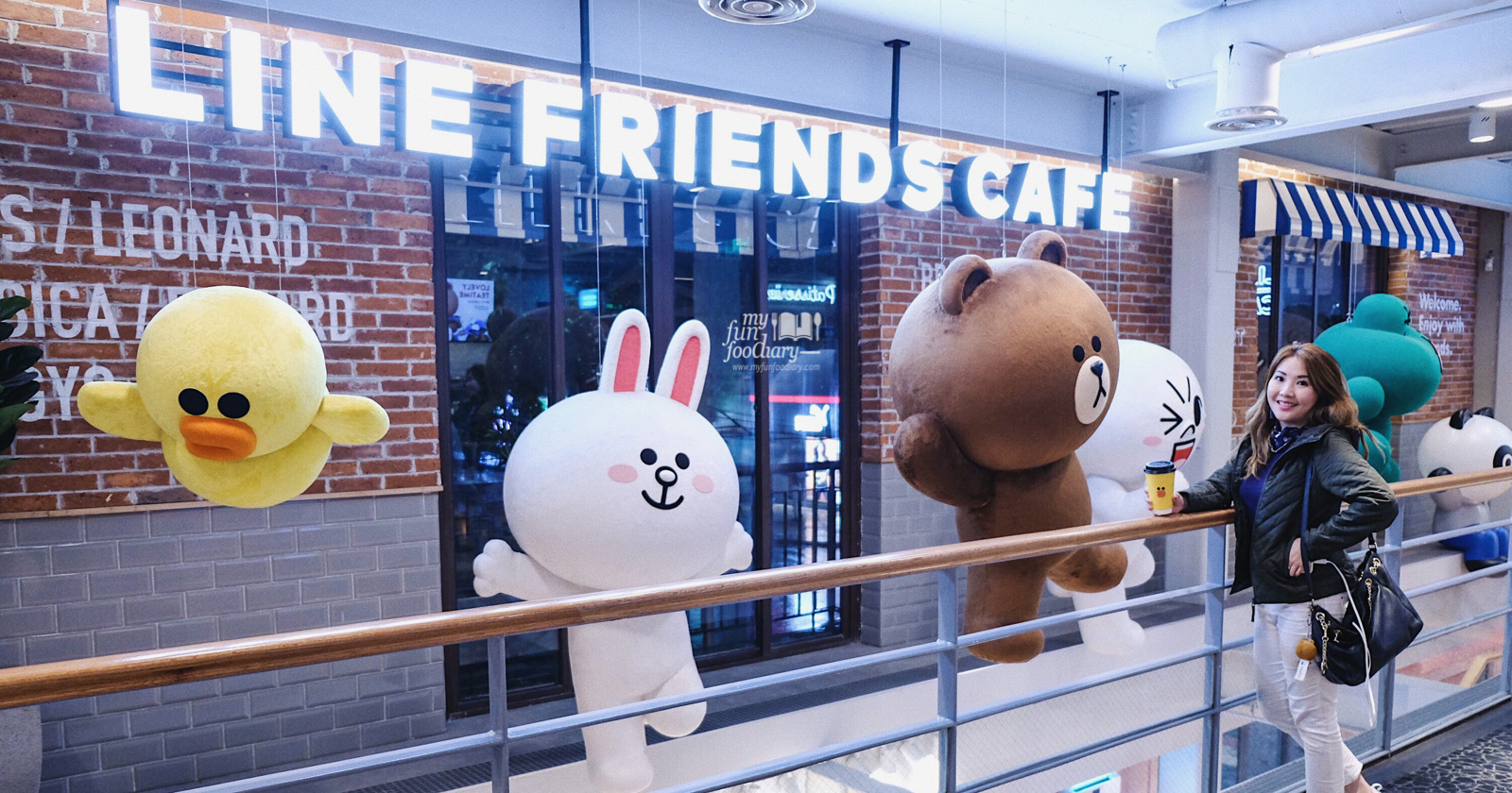 Shanghai Line Friends Store And Cafe Choco House Myfunfoodiary Com